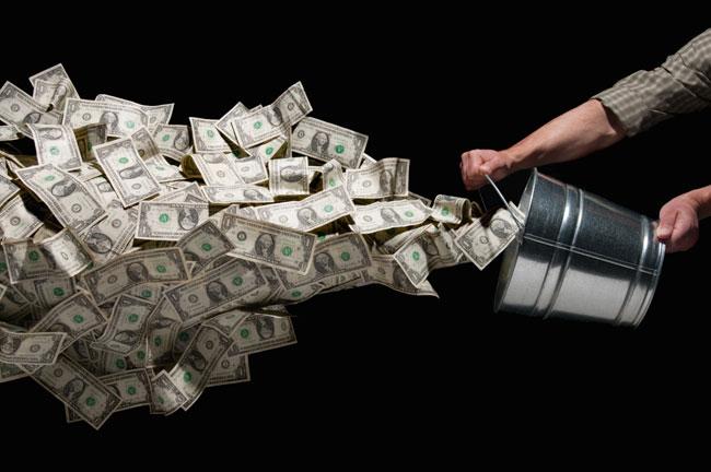 потерянные деньги